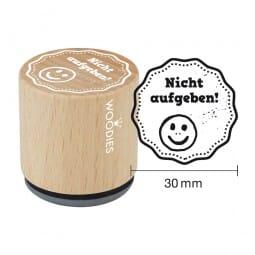 Woodies Stempel - Nicht aufgeben!