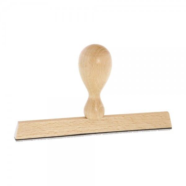 Holzstempel (150x10 mm - 2 Zeilen)