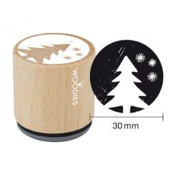 Woodies Stempel - Tannenbaum