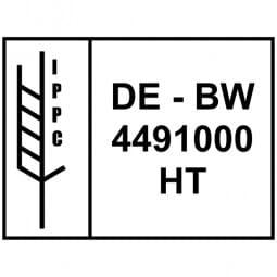 IPPC Holzstempel (80x60 mm)