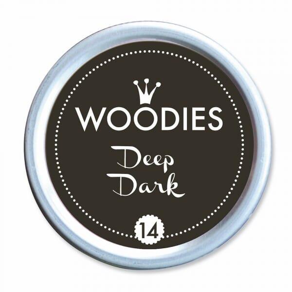 Woodies Stempelkissen - Deep Dark bei Stempel-Fabrik