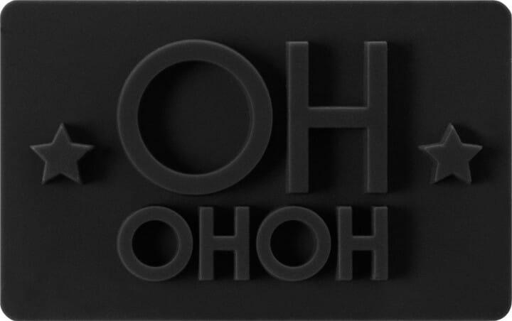 Birkmann Keksstempel mit Ho Ho Ho (75x47 mm)