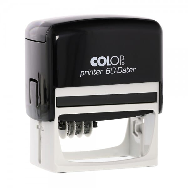Colop Printer 60 Dater links (76x37 mm - 7 Zeilen) bei Stempel-Fabrik