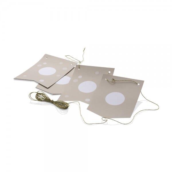 NIO Wimpel + Band Craft (115x160 mm / 3m - 2x5 Stück)