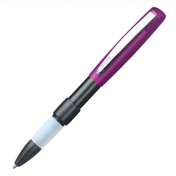SALE - Heri switch write & stamp 50627 Kugelschreiberstempel schwarz/violett (33x8 mm - 3 Zeilen)