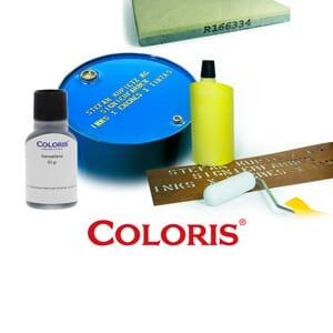 Coloris Stempelfarbe Beton Signierfarbe P von stempel-fabrik