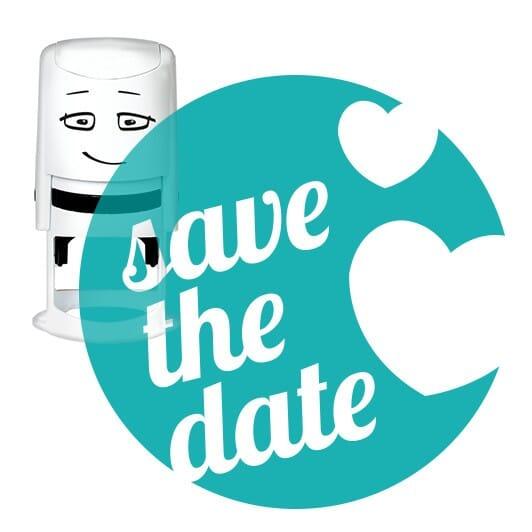 NIO Stempelmotiv save the date