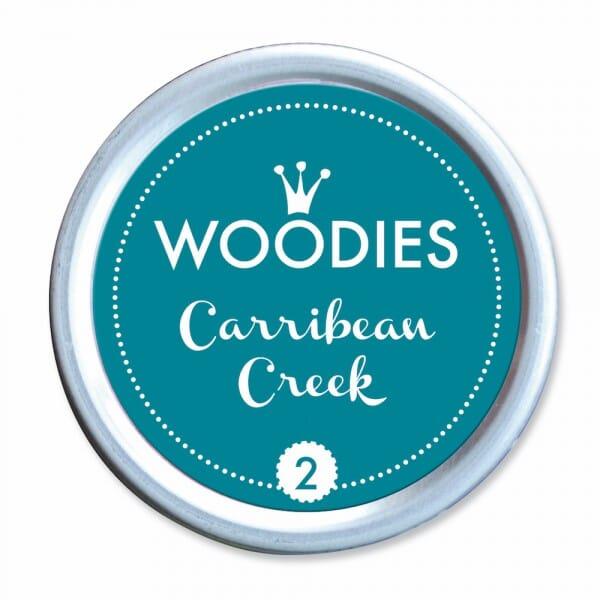 Woodies Stempelkissen - Carribbean Creek bei Stempel-Fabrik