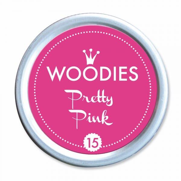 Woodies Stempelkissen - Pretty Pink bei Stempel-Fabrik