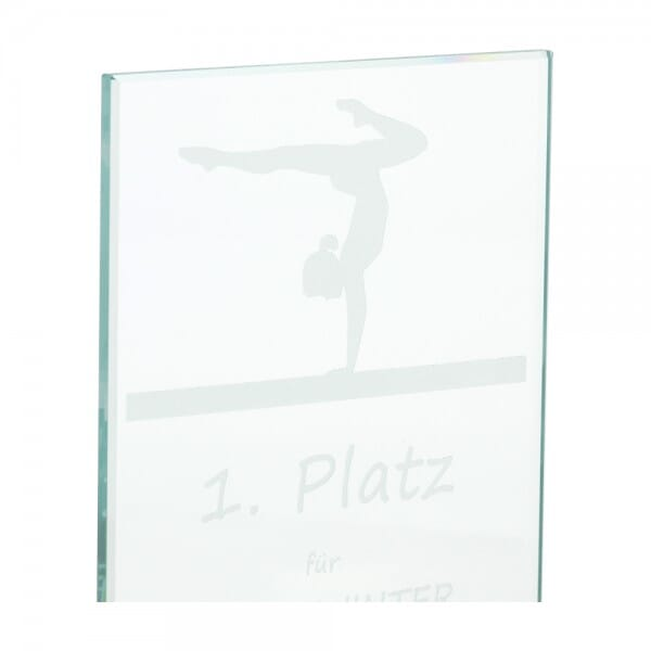 Glasständer (Gravurmaß 90x160 mm)