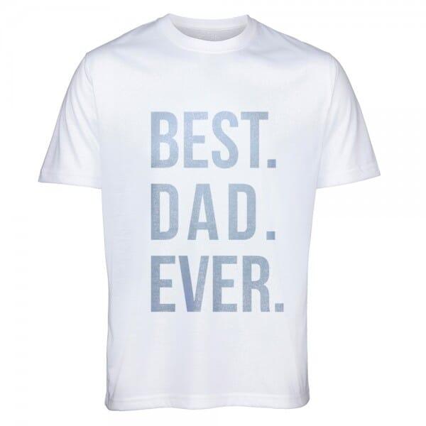 "T-Shirt ""Best Dad ever"""