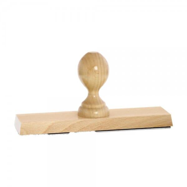 Holzstempel (200x50 mm - 10 Zeilen)
