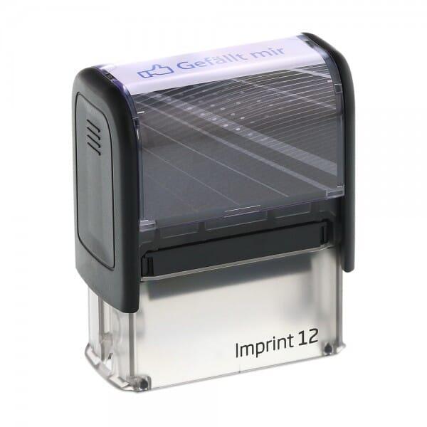"""Dormy Imprint 12 """"Gefällt mir"""" (47x14 mm)"""