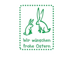 Stempel zu Ostern