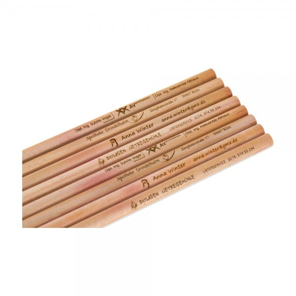 Bleistifte (Gravurmaße 80x5 mm)