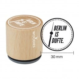 Woodies Stempel - Berlin is Dufte
