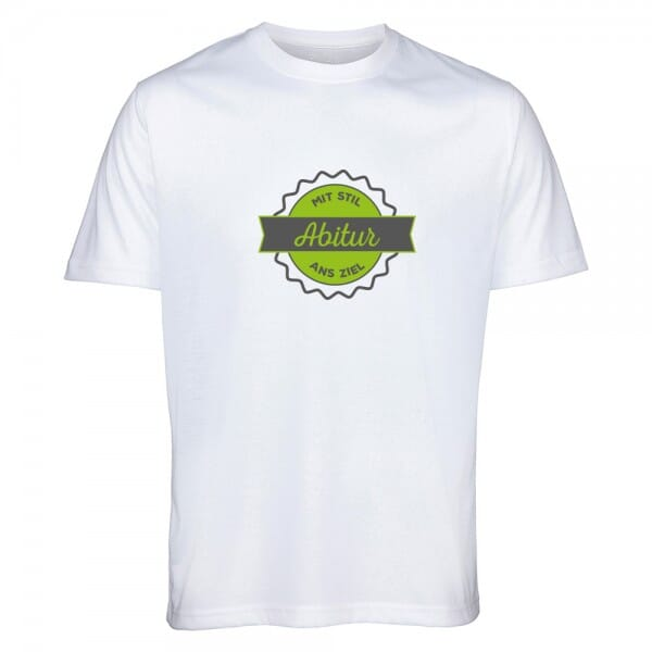 """T- Shirt ABI """"Mit Stil ans Ziel"""""""
