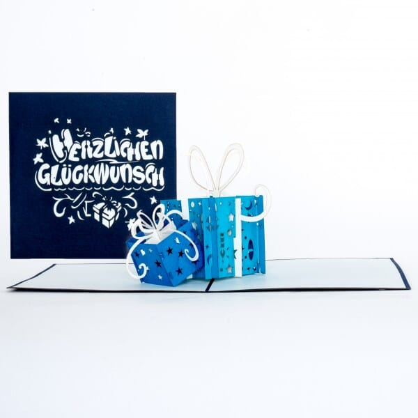 Colognecards Pop-Up Karte Geschenke