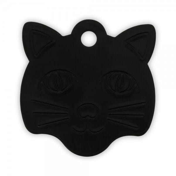 "Katzenmarke ""Katzenkopf"" (Gravurmaß 20x15 mm)"