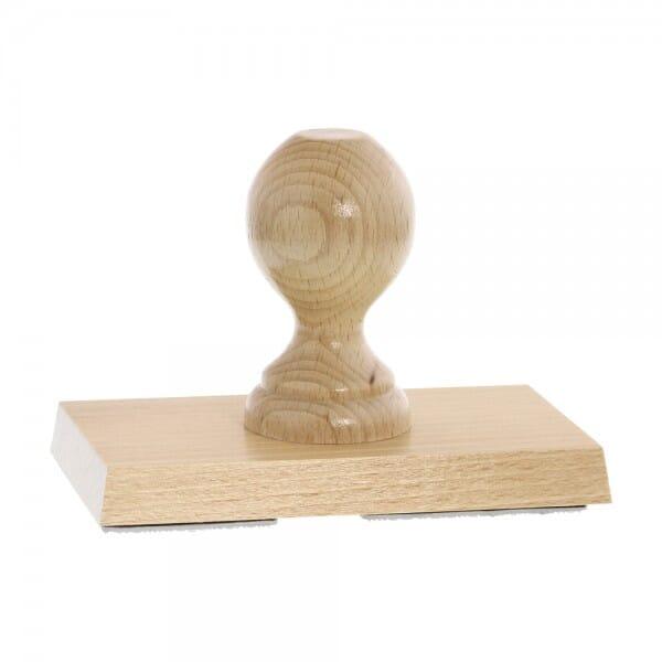 Holzstempel (140x80 mm - 16 Zeilen)