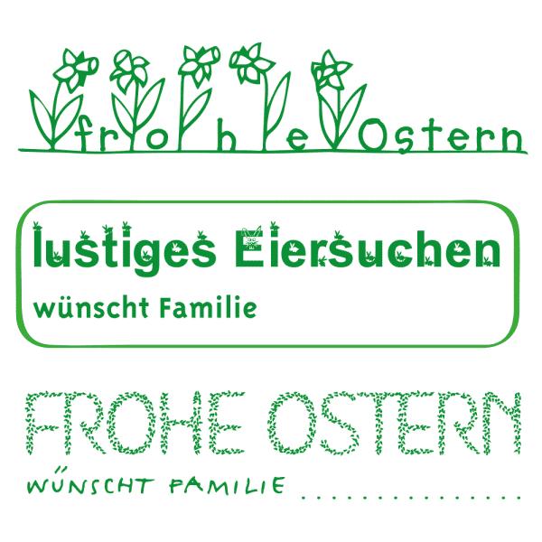 Oster Holzstempel (70x20 mm)