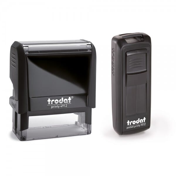 Doppelpack / Trodat Printy 4912 + Mobile Printy 9512
