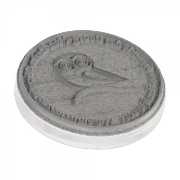 Textplatte für Colop Stamp Mouse R 40 (Ø 40 mm - 6 Zeilen)