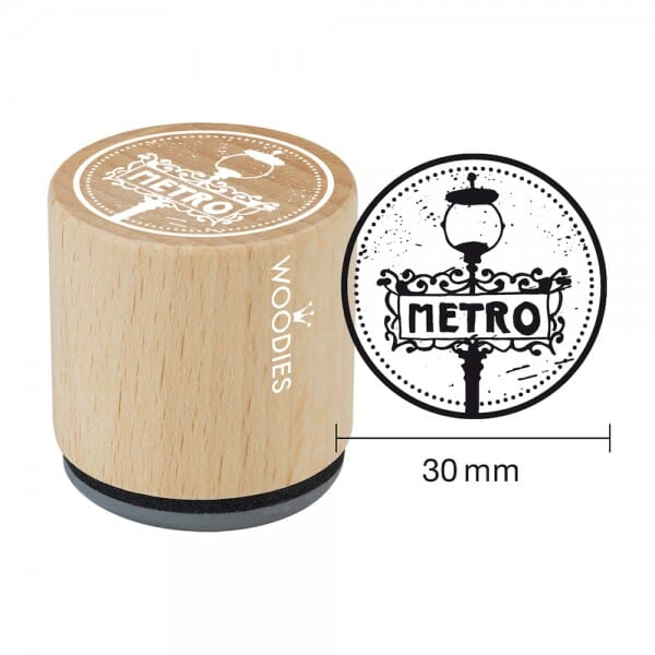Woodies Stempel - Metro