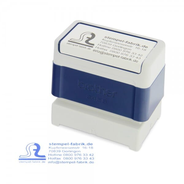 Brother digistamp 3814 (38x14 mm - 4 Zeilen)