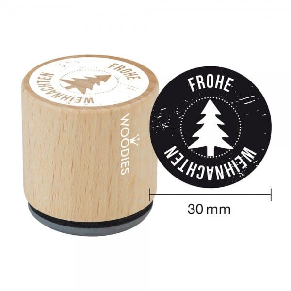 Woodies Stempel - Frohe Weihnachten W07007