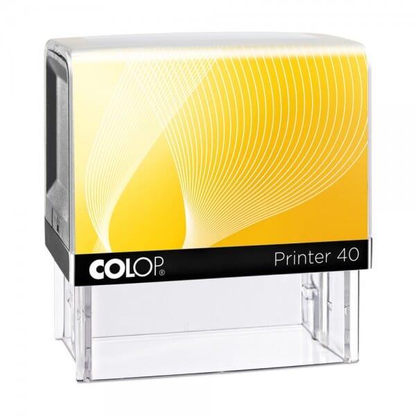 Colop Printer 40 (59x23 mm - 6 Zeilen)