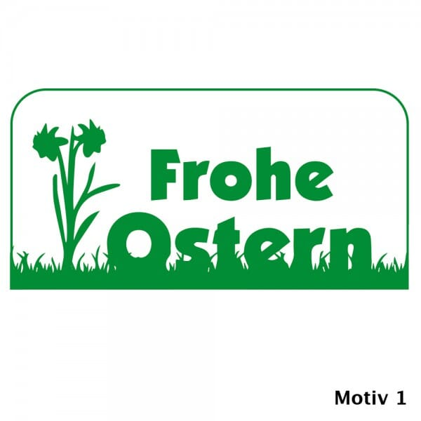 Ostern Holzstempel (60x30 mm)