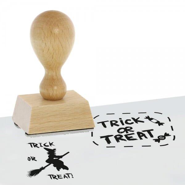 Halloween - Holzstempel (40x30 mm)