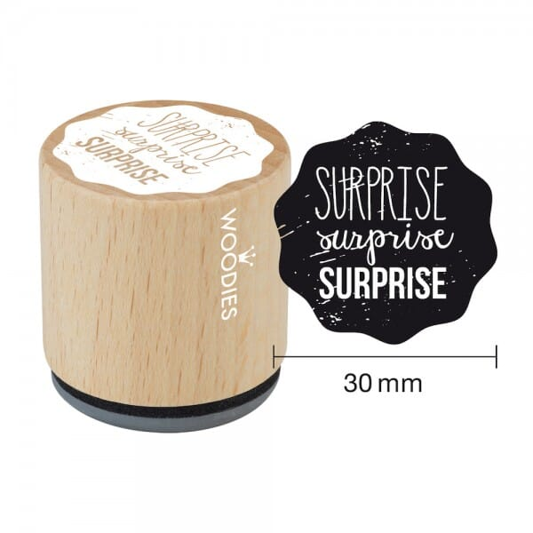 Woodies Stempel - Surprise