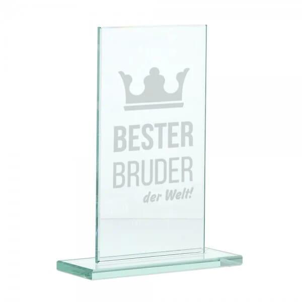"""Glasständer """"Bester Bruder"""""""