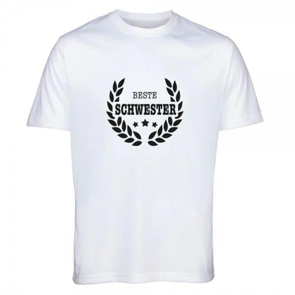 "T-Shirt ""Beste Schwester"""