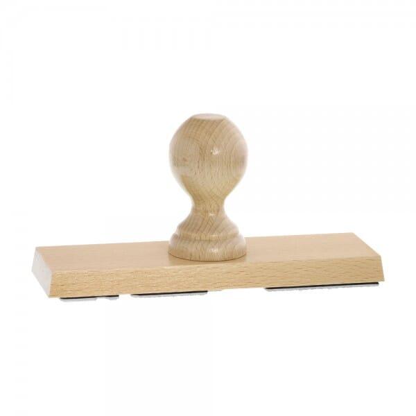 Holzstempel (200x60 mm - 12 Zeilen)