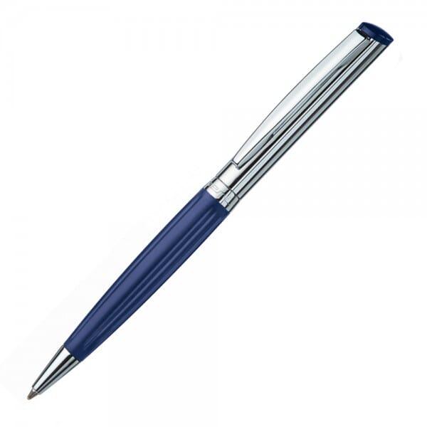 Heri Diagonal Wave 6231 Kugelschreiberstempel Blau/Silber (33x8 m bei Stempel-Fabrik