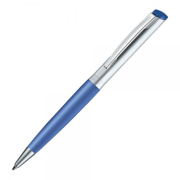Heri Diagonal Color 6033 Kugelschreiberstempel Blau (33x8 mm - 3 zeilen)