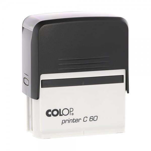 Colop Printer C60 (76x37 mm - 8 Zeilen) bei Stempel-Fabrik