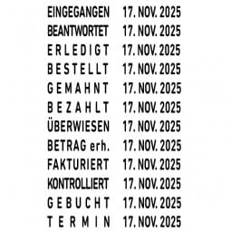 Trodat Classic 1117 Wortbanddrehstempel (55x4 mm)