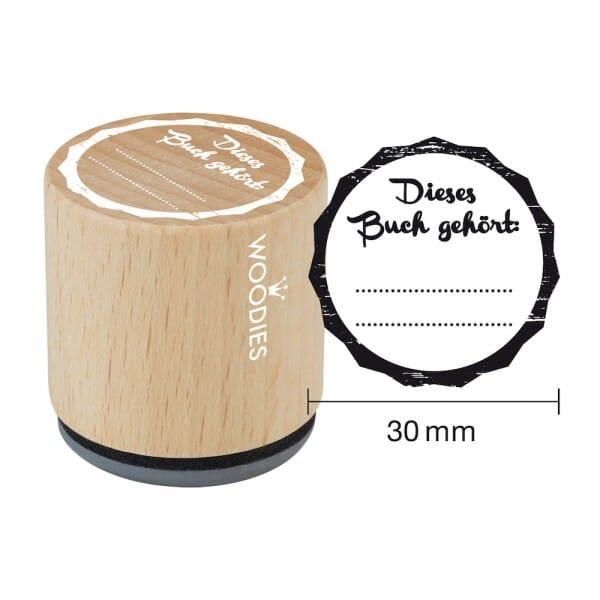 Woodies Stempel - Dieses Buch gehört W08006