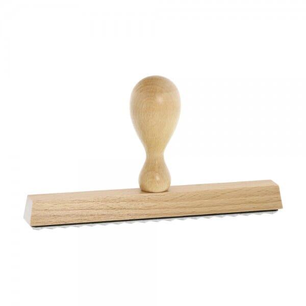 Holzstempel (160x20 mm - 4 Zeilen)