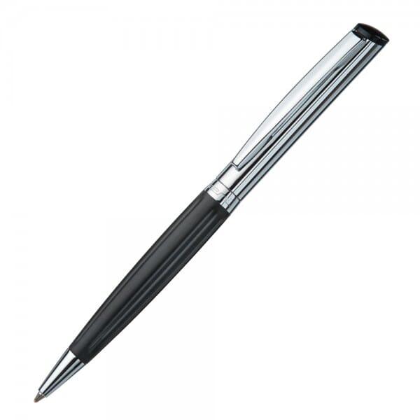 Heri Diagonal Wave 6221 Kugelschreiberstempel Schwarz/Silber (33x bei Stempel-Fabrik