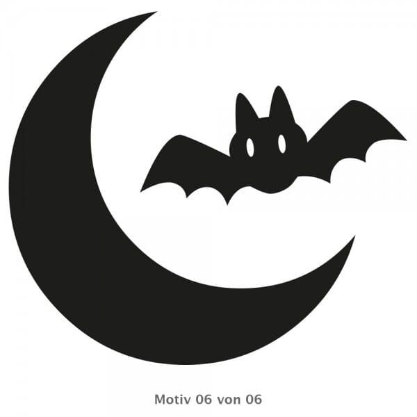 Halloween - Holzstempel Set (Ø 20 mm)