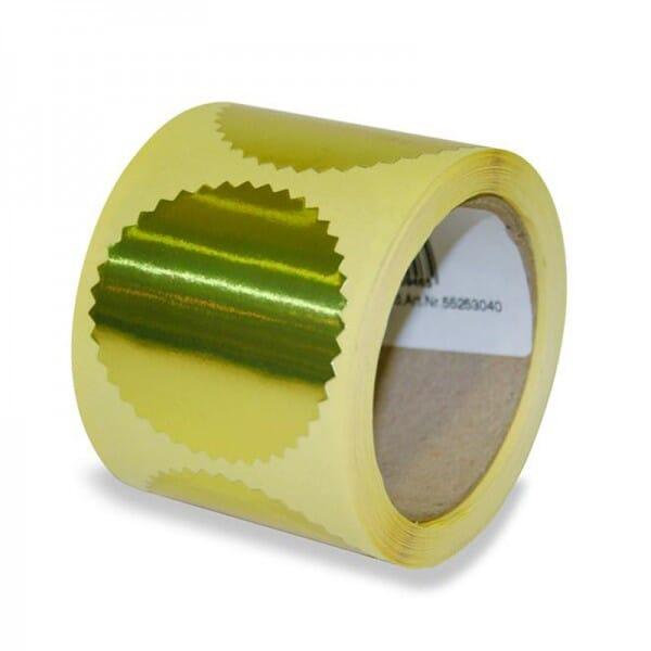 Haftetiketten für Prägezangen (Ø=55mm)