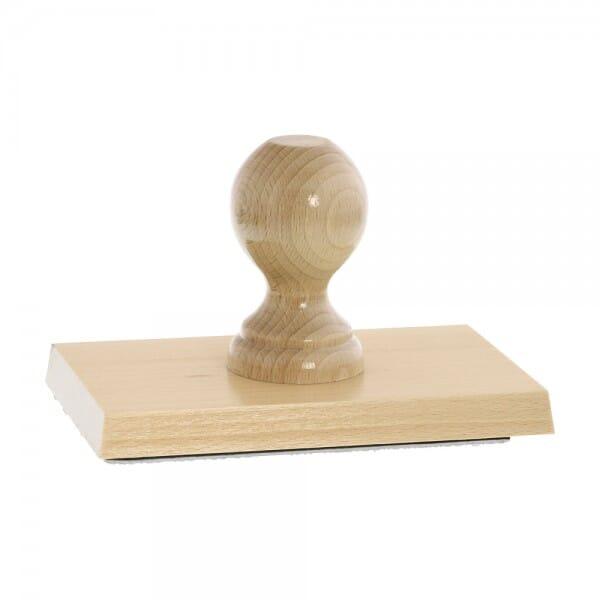 Holzstempel (160x100 mm - 20 Zeilen)