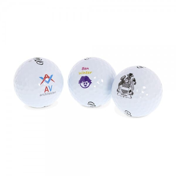 "Golfball ""Drive""mit individuellem Druck (12 Stück)"