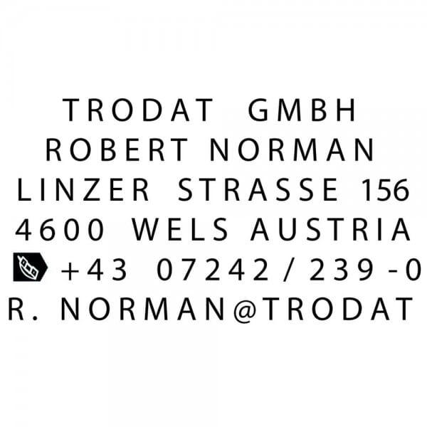 Trodat Printy Typomatic 4929 (50x30 mm - 6 Zeilen)