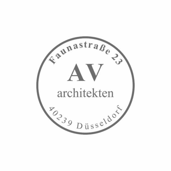 Textplatte für Trodat Professional 52045 rund PREMIUM (ø42 mm - 6 Zeilen)